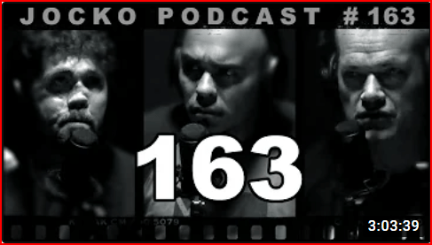 Thumbnail image of Jason Redman, Jocko Willink and Echo for Jocko Podcast episode 163, which features the importance of choosing the right friends in life, overcoming adversity and more.