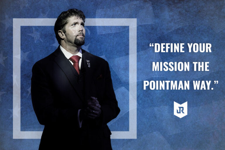 Speaker Jason Redman talks about defining a personal or business mission