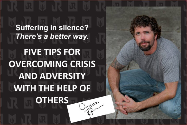 Jason Redman gives advice for how not to suffer in silence