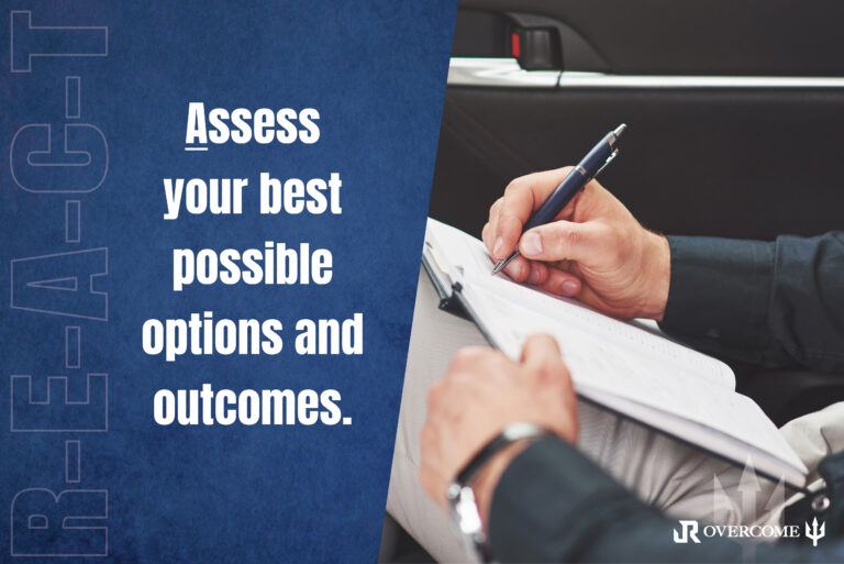Jason Redman discusses assessing your options in the face of adversity